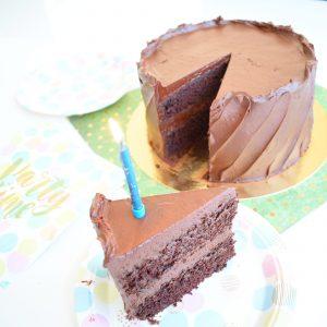 Biologische Chocolade Verjaardagstaart Bestellen - Ook genoeg Vegan keuzes! - Onze gebakjes zijn 100% BIO, Ambachtelijk, Duurzaam en Vers op Order - Nu met gratis persoonlijk handgeschreven bericht! - Organic Birthday Cake - Chocolate Cake
