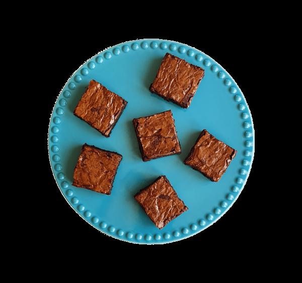 biologische bio fudgy brownie klassiek classic echte brownie chocolate chocolade smeuïg organic online bestellen bezorgen Rotterdam Den Haag Voorburg Zoetermeer Wassenaar Amsterdam Delft Gouda