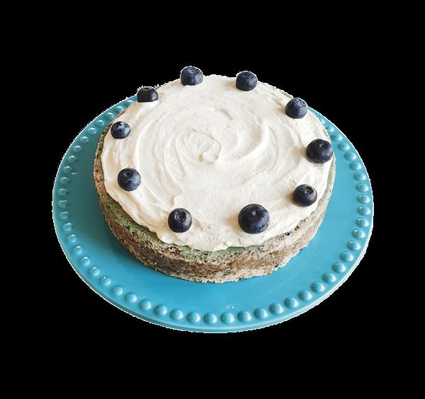 Vegan Blueberry Cheesecake Veganistische biologische bosbessen cheesecake lekkere biologische natuurlijke taarten bestellen luxe taarten groothandel bezorgen afhalen leidschenveen delfgauw berkel wassenaar hoek van holland zuid holland gebakjes
