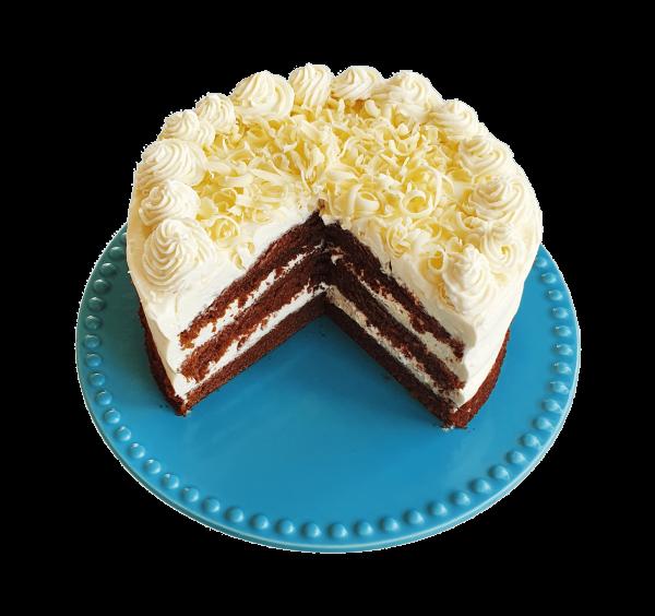 Red Velvet white chocolate biologische taarten gebak taart online bestellen bezorgen bestel taartenshop taartenwinkel bio gebakjes verjaardagstaart den haag voorburg zoetermeer leiden wassenaar gouda alphen aan den rijn hoek van holland delft delfgauw rijswijk rotterdam noordwijk lisse woerden naaldwijk bodegraven nieuwkoop