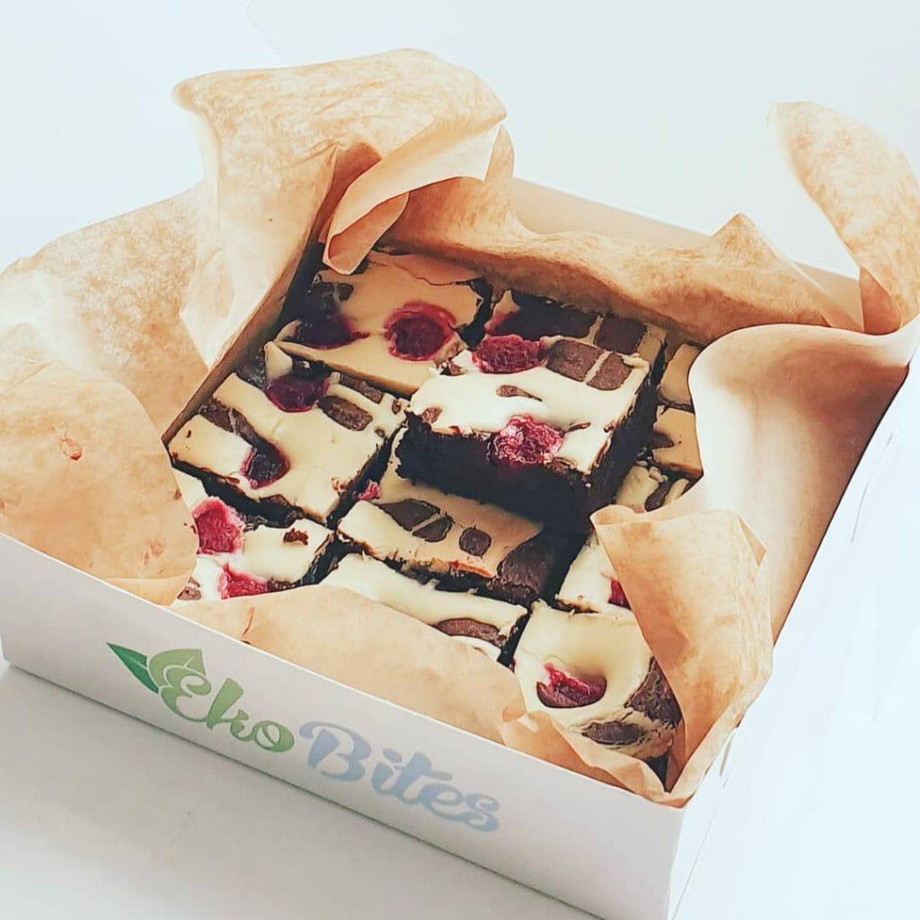 Biologische fudgy brownies bestellen online organic fudge brownies bestellen laten bezorgen chocolade gebakjes bestellen online den haag rotterdam amsterdam geschenk