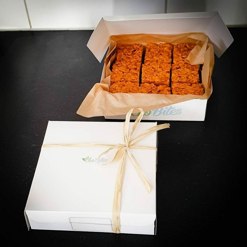 online biologische gebakjes bestellen perfect als geschenk als cadeau als bedankje bio lekkernijen bestellen versturen per post den haag rotterdam amsterdam