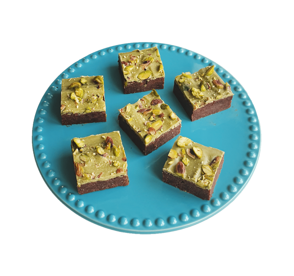 Vegan brownies per post bestellen? Lekkerste combinaties en volledig biologisch! Nu met gratis persoonlijk boodschap! - Fudgy brownies - Chewy cookies - Moist muffins & Special cakes - SKAL-gecertificeerd!
