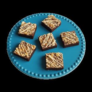 Bio Triple Nuts Brownies Biologische lekkernijen per post - Fudge Brownies - Chewy Chocolate Cookies - Moist Muffins - Alles is 100% Biologisch - Ambachtelijk & Vers op order - De lekkerste brownies online bestellen