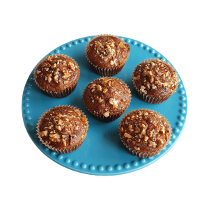 Bio Vegan Carrot Muffins (suikervrij) Veganistische volledig biologische muffins online verkrijgbaar in ons webwinkel | Bio Brownies - Bio Cookies - Bio Muffins - Exclusive Cakes & more.. | Groothandel Kleinhandel Biologische Gebakjes & Lekkernijen