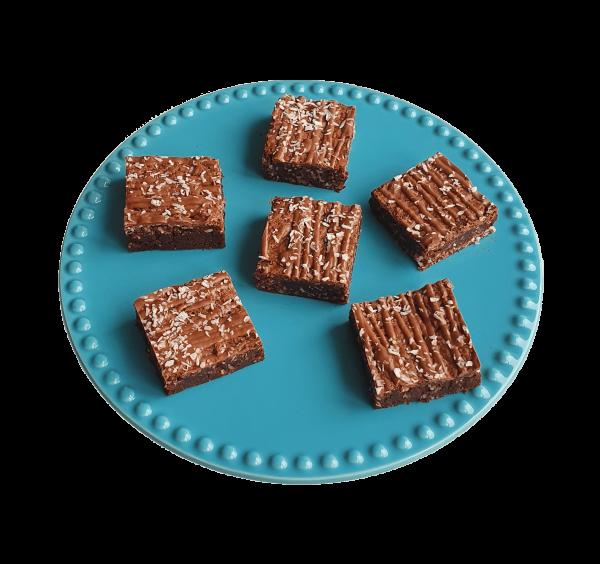 Bounty Brownies - Biologische brownies en cookies per post - Onze Fudgy brownies zijn nu natuurlijk en nu nog lekkerder - Duurzaam en Ambachtelijk geschenk - Bio chocolade gebakjes - B2B Partnership - Zakelijk - Horeca