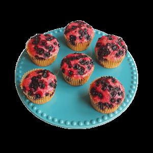 Biologische Vegan Muffins - De lekkerste muffins zijn online bij ons te bestellen - Werkdagen voor 14.00 besteld is zelfde dag verzonden - Biologische taart op maat, ook vegan keuzes - Vegan brownies per post! 100% BIO