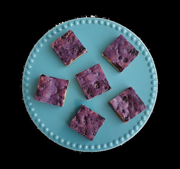 Bio blueberry blondies per post - Deze heerlijke blondies zijn biologisch, met de beste kwaliteit handgemaakt en makkelijk te bestellen op onze webshop. Nu met gratis persoonlijk boodschap. Op werkdagen voor 14.00 besteld is zelfde dag verzonden! Fudgy brownies - chewy chocolate chip cookies - moist muffins - exclusive cakes & more