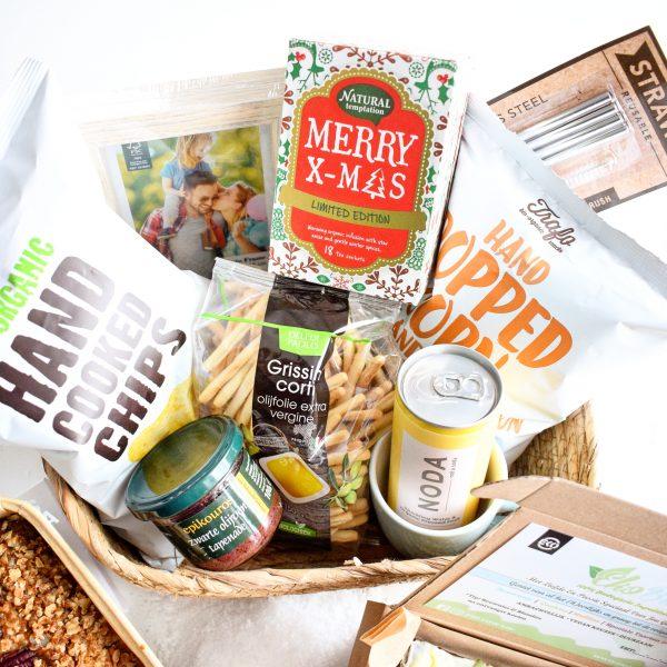 Biologische Duurzame Vegan Kerstpakketten Bestellen - Bestel nu hier uw verantwoordelijke duurzame kerstpakketten voor uw werknemers of relaties - 100% BIO & Vegan - Ambachtelijk - Uniek - Duurzaam - Verantwoord - B2b